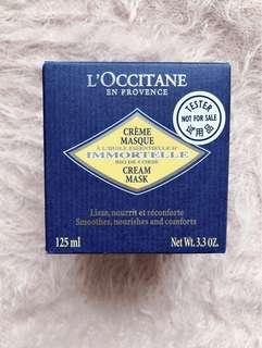 Loccitane Immortelle Cream Mask 蠟菊珍貴乳霜面膜 125ml tester