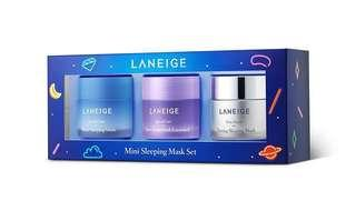 🚚 BNIB Laneige Dream and Glow Mini Sleeping Mask Set (3 items)
