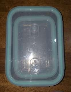 Glass containers, microwave safe