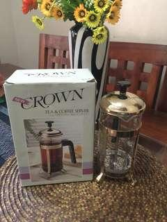 CROWN 5 Cup Tea and Coffee Server