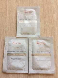 [包郵] $10/3包 Avene PhysioLift Aqua In Gel 逆齡緊致保濕水漾乳霜 (Sample 試用裝)