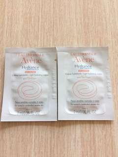 [包郵] $7/2包 Avene Light Hydrating Cream SPF 20 (Sample 試用裝)