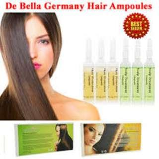 De bella Germany Hair Scalp/loss Ampoules brand New