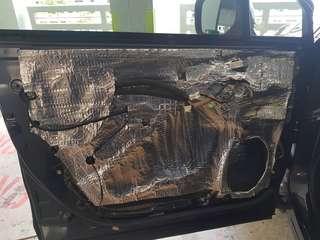 Subaru Forester Door 2 Layer Soundproofing