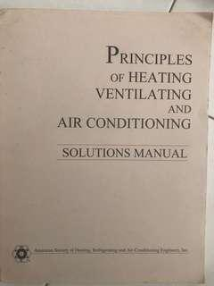 🚚 Principles of Heating Ventilating and air conditioning