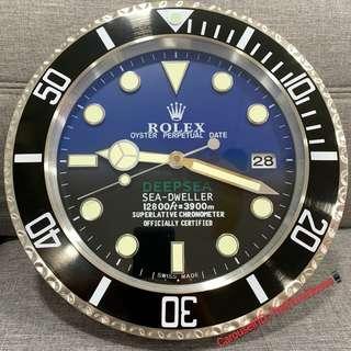 Rolex Deepsea Wall Clock