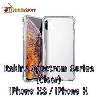 🚚 Itskins Spectrum Series (Clear) for iPhone XS / iPhone X