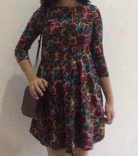 Flower Dress stretch