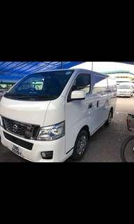 NISSAN NV350 COMMERCIAL LORRY VAN FOR RENTAL