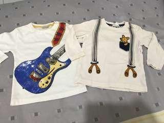 #MFEB50 Zara Baby & H&M Long Sleeve 12M