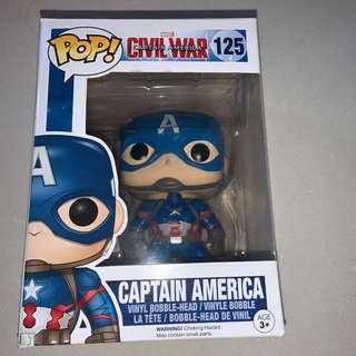🚚 funko pop captain america civil war