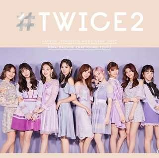 [INCOMING INSTOCK] Twice 2nd Best Japan Album #Twice2 Limited Version A