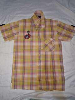 Disney Button Down Polo Shirt for Boys