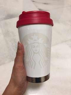 BN Starbucks Korea Limited Edition Thermos Tumbler - CNY Festive Red Valentines Day Special