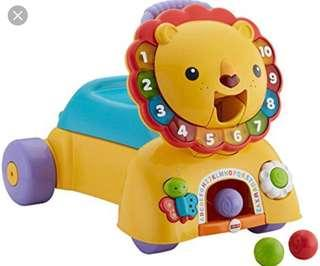 🚚 <PRICE REDUCED> Fisher Price 3 in 1 Sit, Stride & Ride Lion