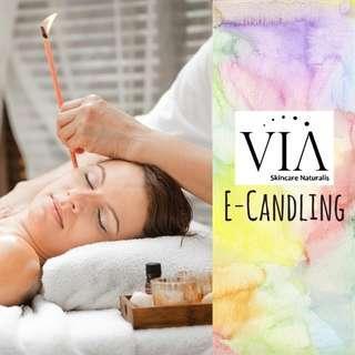 Ear Candling Treatment Voucher