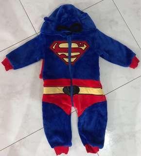 🚚 <PRICE REDUCED> BN Superman Baby Onesie Costume (FOC MAILING)