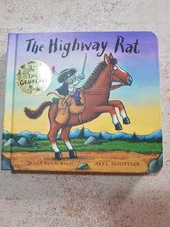 🚚 Board book Julia Donaldson The Highway Rat