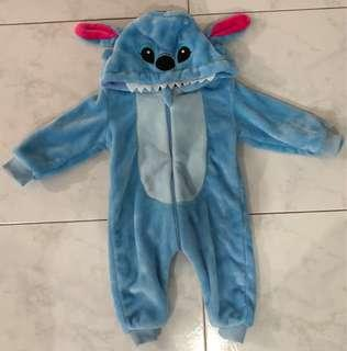 🚚 USED ONCE Stitch Baby Onesie Costume (FOC MAILING)
