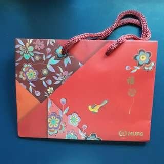 MUFG CNY carrier.