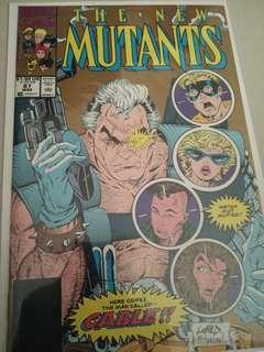 🚚 2nd Print New Mutants #87