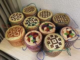 Thai Sticky Rice Handmade Bamboo Basket