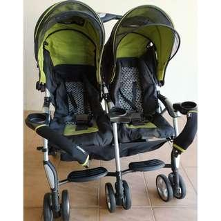 Combi Twin Stroller - Fully Imported