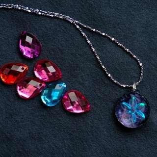 【宇宙公式】項鏈 necklace  Emma Tam Creations galaxy accessorie 情人節 婚禮 回禮