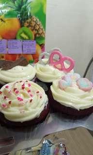 Red velvet cupcakes ❤