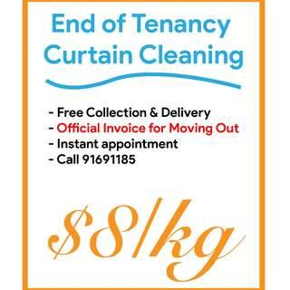 Curtain Cleaning & Dry Cleaning
