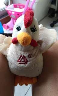 🚚 小雞玩偶 復古