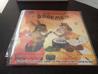 🚚 Enfamama Town Musician Bremen With Audio CD