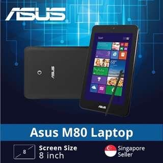 🚚 (Asus Certified Refurbished) Asus M80 Tablet / Intel Atom Z3740 / 2GB RAM / 64GB HDD / Windows 8