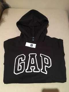 全新 gap女生黑色帽t