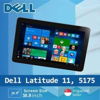 🚚 Refurbished Dell Latitude 11 5175 Laptop / Intel Core M Processor / 8GB RAM / 256GB SSD / Windows 10
