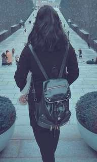 Personal Black Rucksack FLAWED