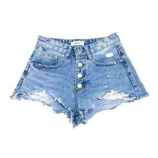 Distressed HW shorts