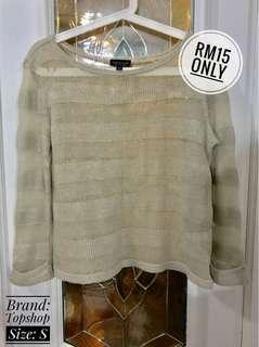 Knitted Long Sleeves Top