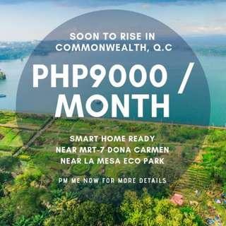 pre-selling condo in Commonwealth Q.C.