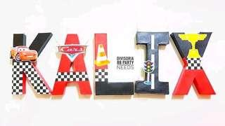 12inch letter standee