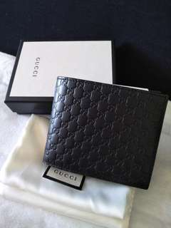 Authentic Brand New Gucci men wallet f4c79a3be9aae