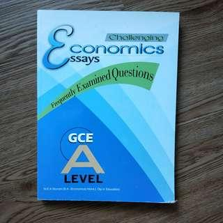 Challenging Economis Essays - Frequently Examined Questions for GCE A-Level
