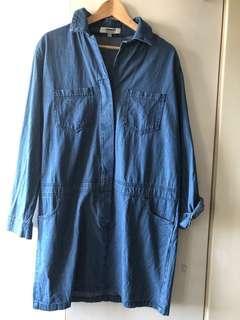 Hi-Connect Denim Dress