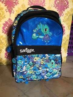 Smiggle Backpack Trolley