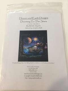 十字繡 cross stitch chart, Heaven Earth Designs