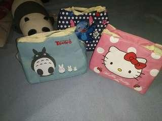 SALE:::Character Insulated Lunch Bag