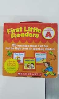 🚚 First Little Readers (Level A)