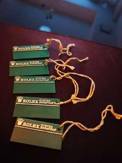Vintage Rolex * OYSTER SWIMPRUF * Green tag