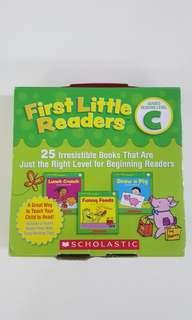 🚚 First Little Readers (Level C)