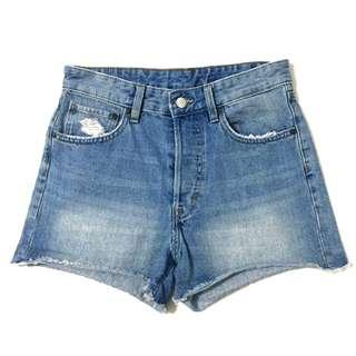 H&M highwaisted shorts